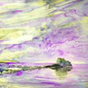 Penon De Ifach In Calpe 02 Art Print