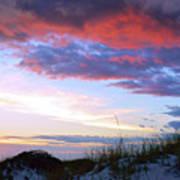 Pensacola Sunset After The Storm Art Print