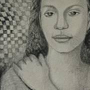 Pensiveness Art Print