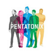 Pentatonix New Album Cover Art Print