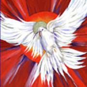Pentecost Dove Art Print