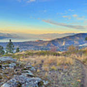 Penticton In The Distance Art Print