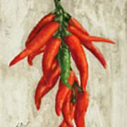 Peperoncini Art Print