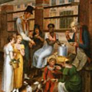 Pepper-pot. A Scene In The Philadelphia Market Art Print