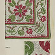 Pepperberry Quilt Art Print