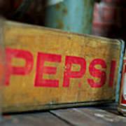 Pepsi Crate Art Print