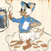 Pepsi Duck Art Print