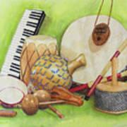Percussion Art Print