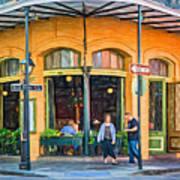 Pere Antoine Restaurant - Paint Art Print