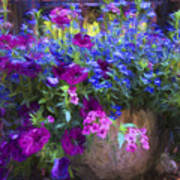 Perennial Flowers Y2 Art Print