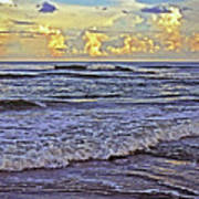 Perfect Beach Evening No.3 Art Print