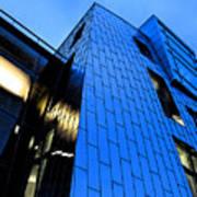 Perfect Blue Buildings Art Print