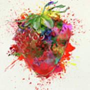 Perfect Strawberry Art Print