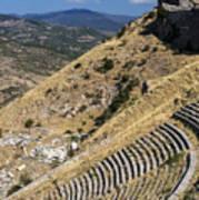 Pergamon Amphitheater Art Print