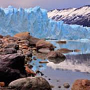 Perito Moreno 001 Art Print