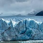 Perito Moreno Glacier Pano Art Print
