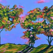 Periwinkle Twilight Art Print