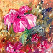 Perky Pink Art Print