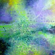 Permanent Green Art Print by Lolita Bronzini