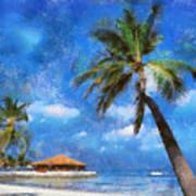 Permanent Vacation Art Print