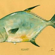 Permit fish Art Print