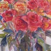 Per's Roses Art Print