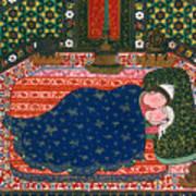 Persia: Lovers, 1527-28 Art Print