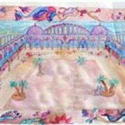 Persian Palace Art Print