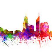 Perth Australia Cityscape 02 Art Print