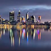 Perth My Beautiful City Art Print