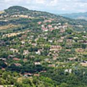 Perugia Countryside Art Print