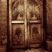 Peruvian Door Decor 11 Art Print