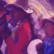 Peruvian Musicians Art Print