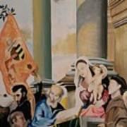 Pesaro Madonna Art Print