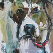Pet Commission Painting Art Print