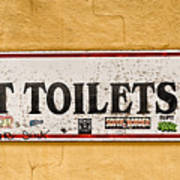 Pet Toilets Art Print