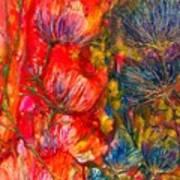 Petal Fiesta Art Print