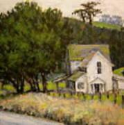 Petaluma Farmhouse Art Print