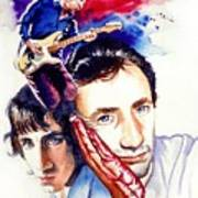 Pete Townshend Art Print