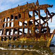 Peter Iredale Shipwreck - Oregon Coast Art Print
