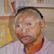 Peter Luwaminda Zambia Art Print