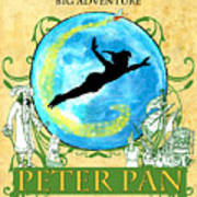 Peter Pan Tribute Art Print