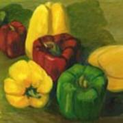 Peter Pifer Has A Lot Of Peppers To Choose From Art Print