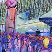 Peter Rowen At Copper Mountain Art Print