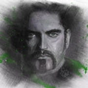 Peter Steele, Type O Negative Art Print