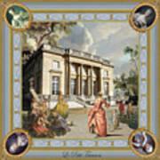 Petit Trianon Medallions Art Print