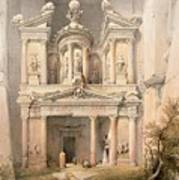 Petra Art Print by David Roberts