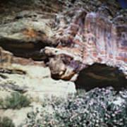 Petra, Transjordan: Cave Art Print