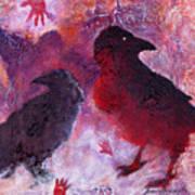 Petro Raven Art Print