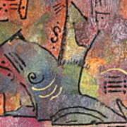 Petroglyph Quilt Art Print